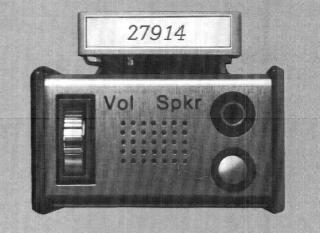 Bos-funkmeldeempfänger Motorola Pageboy 2 Ein-aus Schalter Pageboy Ii